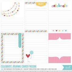 NEW Celebrate {CU} and a freebie! | MissTiina.com {Blog}