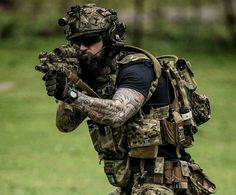 Image result for badass airsoft loadout