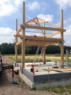 Houten schuren en houten hooibergen   Willemsen Hout uit Opheusden