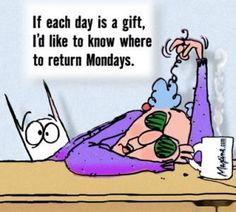 Maxine on Mondays