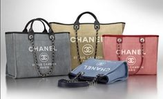 Chanel Deauville Canvas Tote Bag Reference Guide | Spotted Fashion