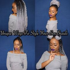 Hair Extensions & Wigs Careful 10pcs Razeal Ombre Gray Braiding Hair 24inch 100g Synthetic Jumbo Crochet Braids Hair Expression High Temperature Fiber