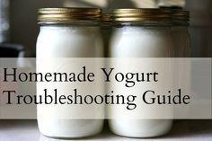 Homemade Yogurt Troubleshooting Guide