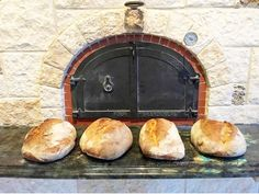 #Customer in #Texas sent us his #monster #sourdough #loaves made in his #woodfired #brickoven this weekend! #Weighing in at 2.5 each. Now that's a #sandwich !