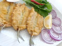 Fish Dishes, Seafood Dishes, Fish And Seafood, Fish Recipes, Snack Recipes, Healthy Meals To Cook, Breakfast Items, Fish And Chips, Turkish Recipes