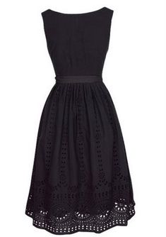 Little black dress. Adore.