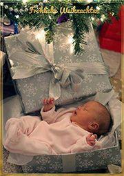 Image on Weihnachtsbilder Portal  http://weihnachten.bilder-web.com/social-gallery/weihnachtsbaby-bild