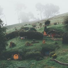 outdoor and natureYou can find Hobbit hole and more on our website.outdoor and nature O Hobbit, Hobbit Hole, Hobbit Land, Tolkien, Casa Dos Hobbits, Amazing Photography, Nature Photography, Destinations, Into The West