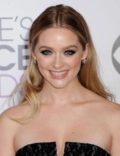 Greer Grammer at the 2015 People's Choice Awards.