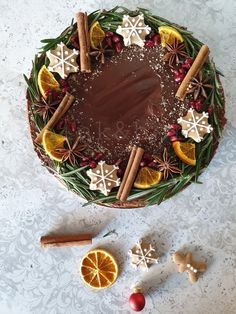 Fanta torta Stromboli, Super Easy, Gingerbread, Berries, Meals, Cooking, Christmas, Cook Books, Drink