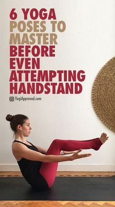 6 Yoga Poses to Master Before Even Attempting HandstandClick the link now to find the center in you with our amazing selections of items ranging from yoga apparel to meditation space decor!