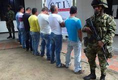 Redada del Ejército en contra de estructuras delincuenciales en Cauca y Valle del Cauca