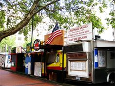 """Portland's food cart culture. In 2011, US World News named Portland as #1 for """"World's Best Street Food."""" There are literally hundreds of carts throughout the city (but a high concentration downtown) peddling every type of gastronomical delight you can think of."""