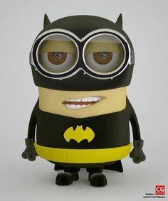 Minion: Batman, The Justice League of America Batman Minion, Cute Minions, Funny Minion Memes, Minions Despicable Me, I Am Batman, Batman Vs Superman, Minions Quotes, Minions 2014, Minion Stuff