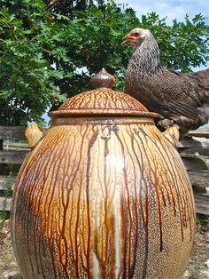 Daniel Johnston Pottery in Seagrove. Unbelievable!