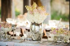Place settings & flowers