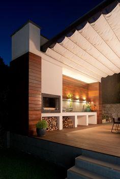 View the full picture gallery of Villa In Crimea Exterior Design, Interior And Exterior, Dream Home Design, House Design, Outdoor Spaces, Outdoor Decor, Facade Architecture, Luxury Villa, Home Deco