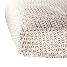 Shell Penny Tile Crib Sheet #serenaandlily NY sheets