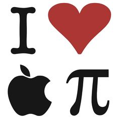 I <3 apple pie!