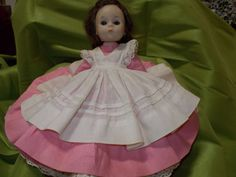 Well cared for Madame Alexander Little Woman MEG doll, all original clothing.