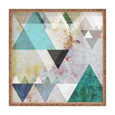 Mareike Boehmer Graphic 3 Blue Shower Curtain | DENY Designs Home Accessories
