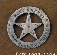 The search for a r e a l Texas Ranger badge is the collecting version of the Agony and the Ecstasy. and mostly agony . Texas Rangers Law Enforcement, Law Enforcement Badges, Real Cowboys, Cowboys And Indians, Outlaw Women, Tx Rangers, Old West Outlaws, Texas History, Sweet Memories