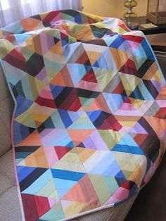Tin Whistle: Not another hexagon quilt