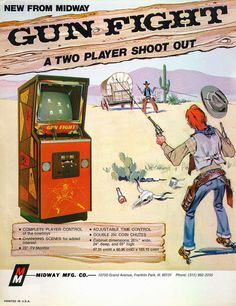 Gun Fight (Midway Mfg. Co.) The Golden Age Arcade Historian: The (Pre) History of Night Driver - Part 4: 280 Zzzap - prehistory