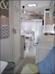 vintage camper interior | Vintage Camper Interior