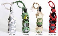 Glass Bottle Decorating =D