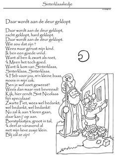 Sinterklaas Kleurplaat Liedje 1000 Images About Sinterklaas On Pinterest Iguanas Van