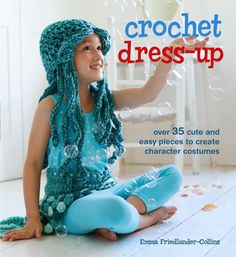 15 Crochet Costumes to Create with 35 Patterns in this cute #Crochet Book @aboutathome