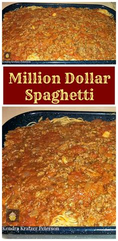 Million Dollar Spaghetti Easy recipe and always a hit with the family! | Lovefoodies.com