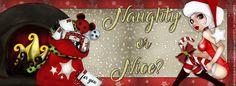 Set Naughty or Nices, con el tube 1 especial de Diciembre y el kit Xmas 2014