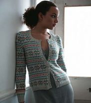 Ladies Fair Isle Cardigan
