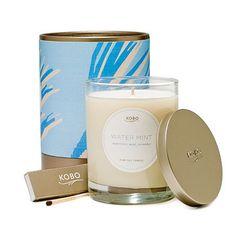 KOBO Botanical Candle Water Mint - Yuppiechef
