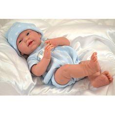 La Newborn 15 inch Baby Doll - Blue Bodysuit