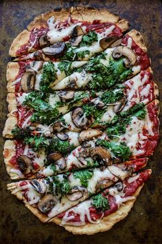 The Best Gluten-Free Vegan Pizza Crust.