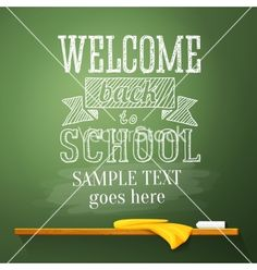 Welcome back to school greeting card pencils by tashaleks on welcome back to school greeting card pencils by tashaleks on vectorstock back to school pinterest school m4hsunfo