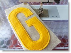 felt letters ♥ http://felting.craftgossip.com/2013/06/02/a-garland-for-all-occasions-pictorial-tutorial/