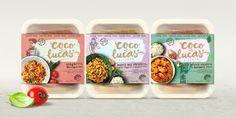 Coco & Lucas' Kitchen Frozen Foods — The Dieline - Branding & Packaging Design