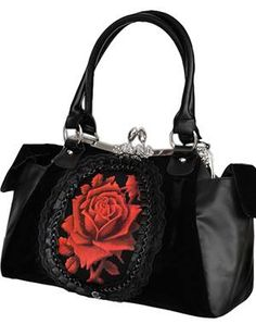 Red Rose Handbag