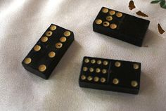 This is a box of Double 12 Lion dominoes from The Embossing Company, dating from the late or early These dominoes are painted black Dinner Party Games, John Wesley, Made Of Wood, Lion, The Past, Dating, Handmade, Stuff To Buy, Etsy