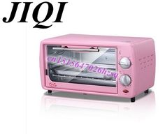 18.40$  Watch here - http://alic9b.shopchina.info/1/go.php?t=32600936990 - mini pizza oven baking pink mini time-controlled 12L pull down the door good quality and cheap oven  #aliexpress