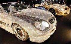 Swarovski Rhinestoned Car!