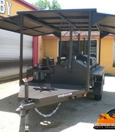 We make custom made bbq pits, grills, smokers, and trailers in all shapes and sizes. Pits by JJ in one of the best hand made bbq pit manufacturers in the USA. Bbq Smoker Trailer, Bbq Pit Smoker, Bbq Grill, Grilling, Custom Bbq Smokers, Custom Bbq Pits, Churros, Smoking Cooking, Bbq Corn