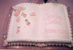 Baptism Sheet Cakes For Girls | Baptism Cake Pictures