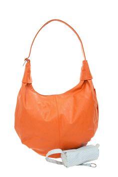 Frauentaschen :: MADEMOISELLE :: M16 | ZWEI Taschen Shopper :: orange :: lederfrei