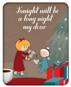 Very Cute. Christmas Coffee by Tommaso Vidus Rosin, via Behance