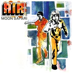 Click the cover art for our musical lead up playlist for Air's seminal classic 'Moon Safari' In which you can find music that either inspired or was relevant to this LP such as Gil scott Heron, Edwin Starr and Serge Gainsbourg. Lps, Dance Pop, Jean Michel Jarre, French Pop, French Style, Easy Listening, Daft Punk, Pink Floyd, Moon Safari
